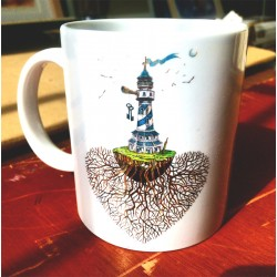 Cup model LIGHTHOUSE